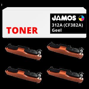 JAMOS Tonercartridges Alternatief voor de HP 312 Voordeelset