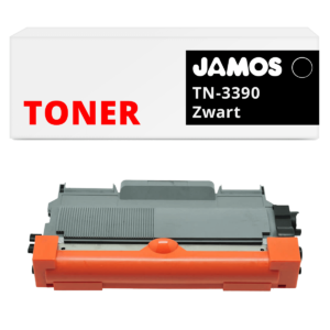 Jamos-Tonercartridge-Alternatief-voor-de-Brother-TN-3390-Zwart