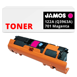JAMOS Tonercartridge Alternatief voor de HP 122A Magenta Q3963A