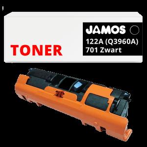 JAMOS Tonercartridge Alternatief voor de HP 122A Zwart Q3960A