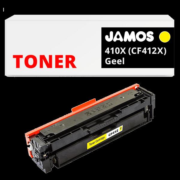 JAMOS Tonercartridge Alternatief voor de HP 410X Geel CF412X