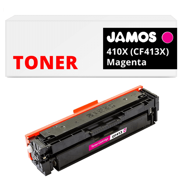 JAMOS Tonercartridge Alternatief voor de HP 410X Magenta CF413X