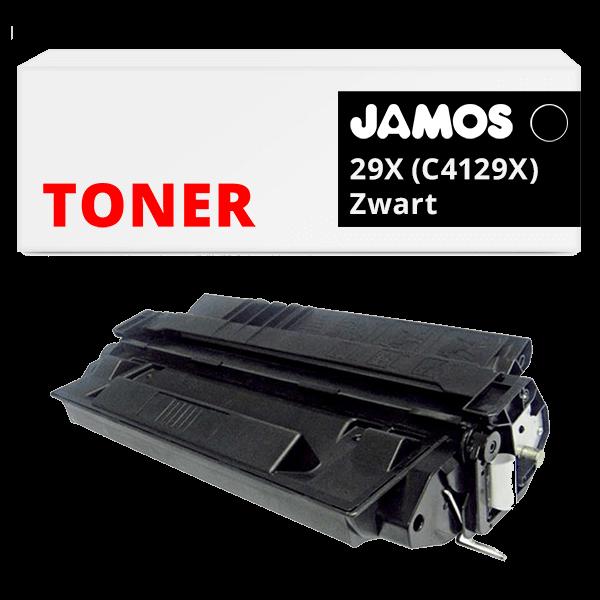 JAMOS Tonercartridge Alternatief voor de HP 29X Zwart C4129X