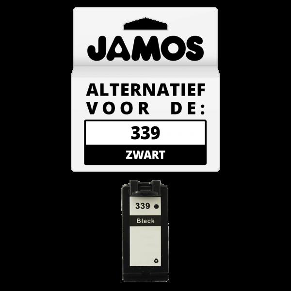 JAMOS Inktcartridge Alternatief voor de HP 339 Zwart