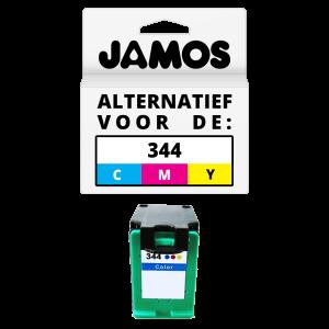 JAMOS Inktcartridge Alternatief voor de HP 344 Kleur