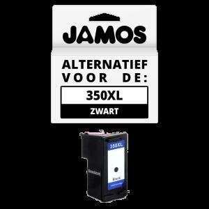 JAMOS Inktcartridge Alternatief voor de HP 350XL Zwart