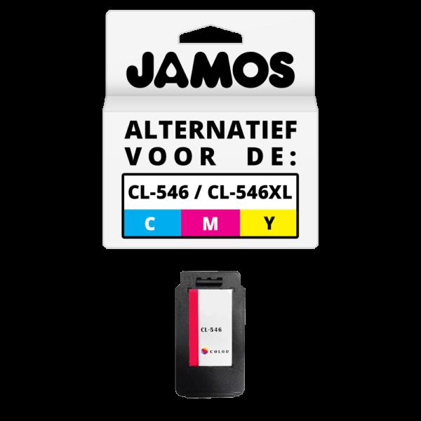 JAMOS Inktcartridge Alternatief voor de Canon CL-546 CL-546XL Kleur