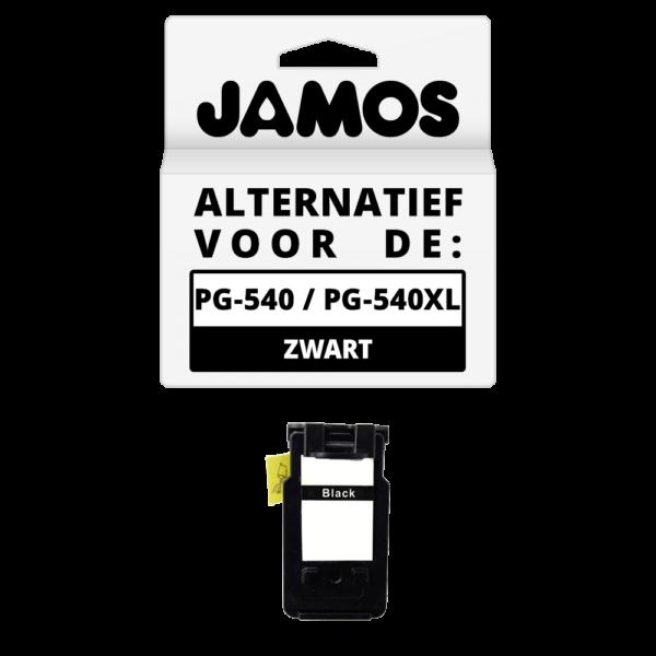 JAMOS Inktcartridge Alternatief voor de Canon PG-540 PG-540XL Zwart