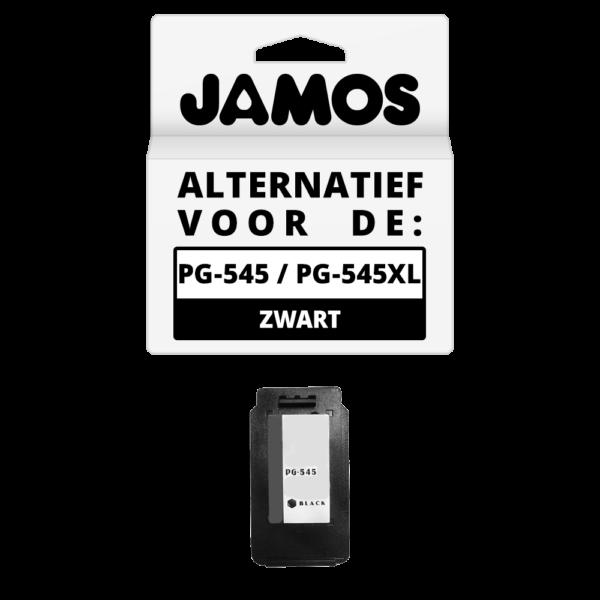 JAMOS Inktcartridge Alternatief voor de Canon PG-545 PG-545XL Zwart
