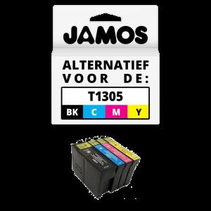 JAMOS Inktcartridge Alternatief voor de Epson T1305 Voordeelset