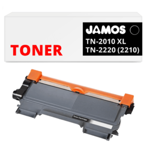JAMOS Tonercartridge Alternatief voor de Brother TN-2010 TN-2210 TN-2220 Zwart