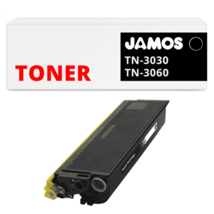 JAMOS Tonercartridge Alternatief voor de Brother TN-3030 TN-3060 Zwart
