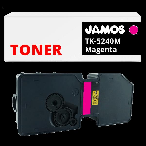 JAMOS Tonercartridge Alternatief voor de Kyocera TK-5240M Magenta