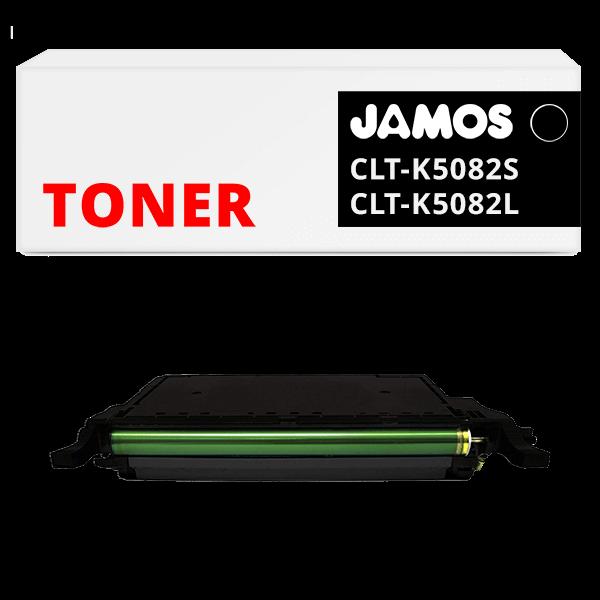 JAMOS Tonercartridge Alternatief voor de Samsung CLT-K5082S CLT-K5082L Zwart