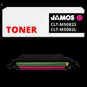 JAMOS Tonercartridge Alternatief voor de Samsung CLT-M5082S CLT-M5082L Magenta
