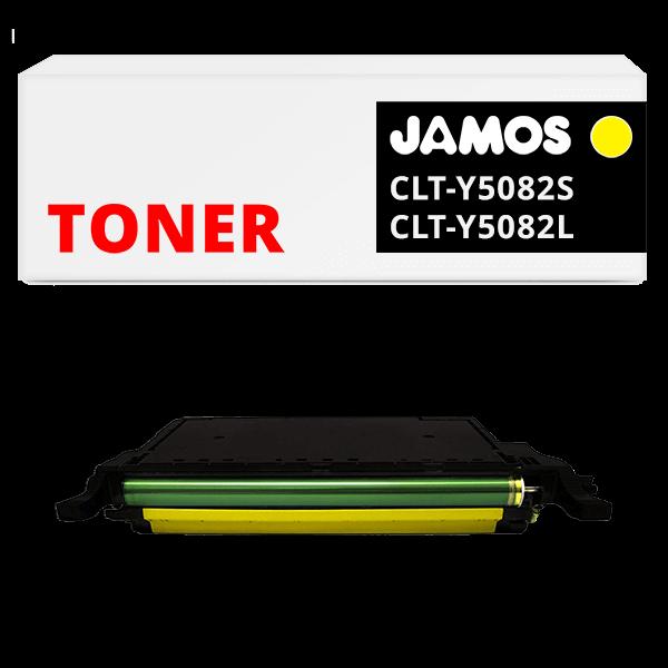 JAMOS Tonercartridge Alternatief voor de Samsung CLT-Y5082S CLT-Y5082L Geel