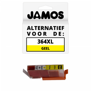 JAMOS Inktcartridge Alternatief voor de HP 364XL Geel