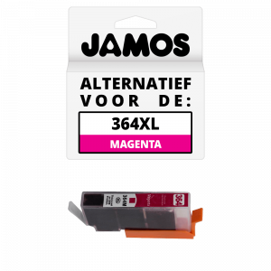 JAMOS Inktcartridge Alternatief voor de HP 364XL Magenta
