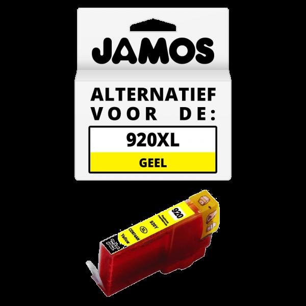 JAMOS Inktcartridge Alternatief voor de HP 920XL Geel