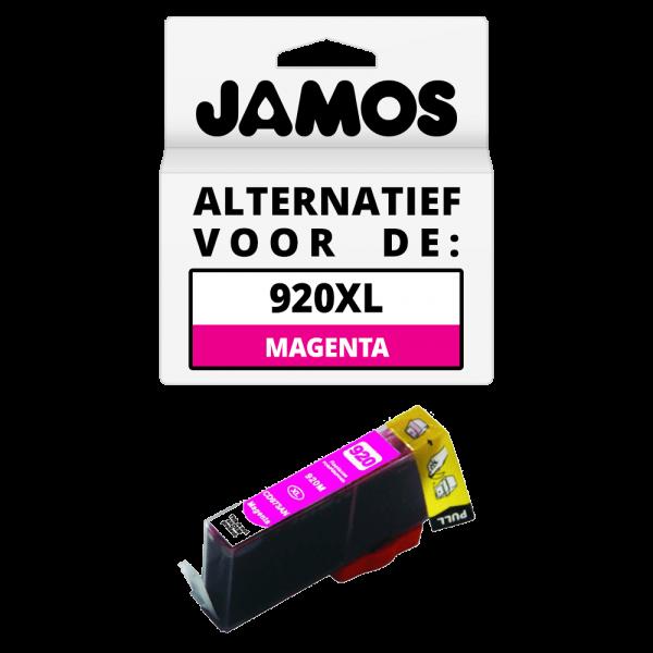 JAMOS Inktcartridge Alternatief voor de HP 920XL Magenta