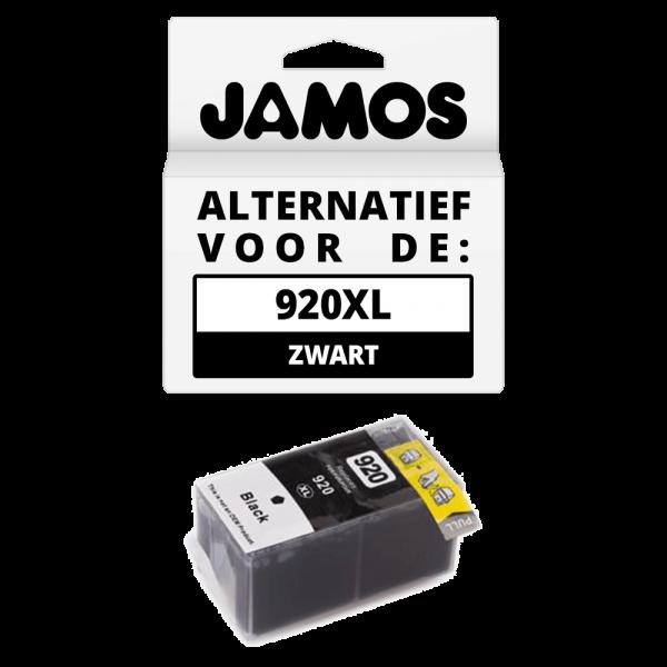 JAMOS Inktcartridge Alternatief voor de HP 920XL Zwart