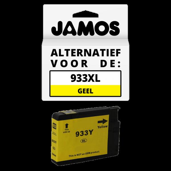 JAMOS Inktcartridge Alternatief voor de HP 933XL Geel