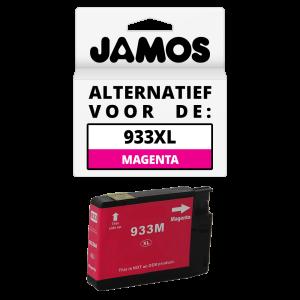 JAMOS Inktcartridge Alternatief voor de HP 933XL Magenta