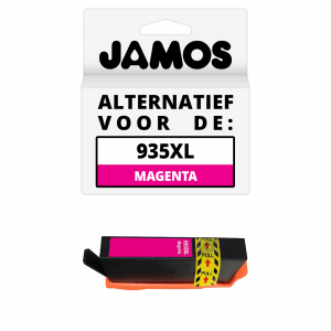 JAMOS Inktcartridge Alternatief voor de HP 935XL Magenta