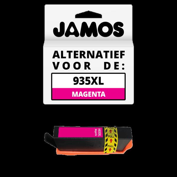 JAMOS Inktcartridge Alternatief voor de HP 935XL Magenta