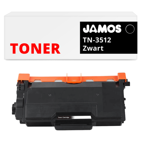 Jamos-Tonercartridge-Alternatief-voor-de-Brother-TN-3512-Zwart