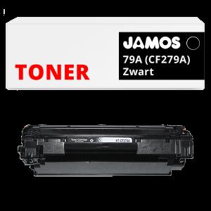 JAMOS Tonercartridge Alternatief voor de HP 79A Zwart CF279A