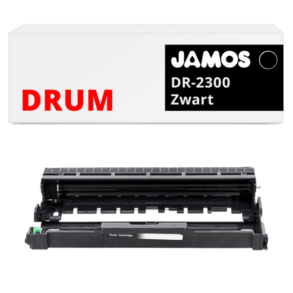 JAMOS Drum Alternatief voor de Brother DR-2300 Zwart