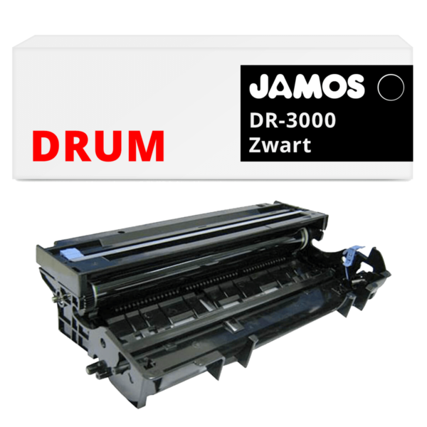 JAMOS Drum Alternatief voor de Brother DR-3000 Zwart