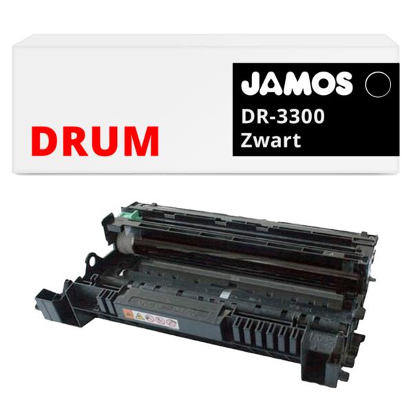 JAMOS Drum Alternatief voor de Brother DR-3300 Zwart