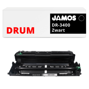 JAMOS Drum Alternatief voor de Brother DR-3400 Zwart