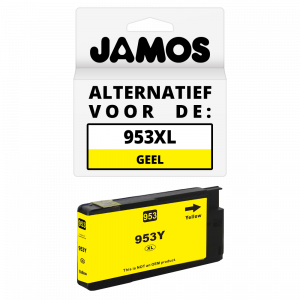JAMOS Inktcartridge Alternatief voor de HP 953XL Geel