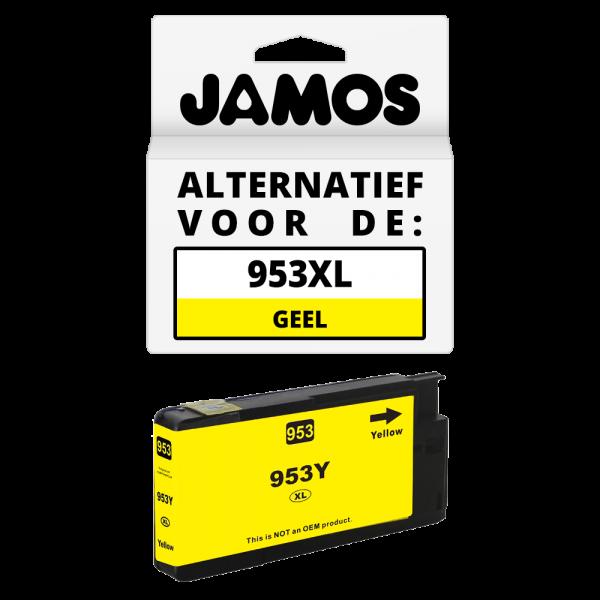JAMOS Inktcartridge Alternatief voor de HP 953XL Geel
