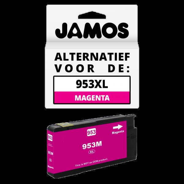 JAMOS Inktcartridge Alternatief voor de HP 953XL Magenta
