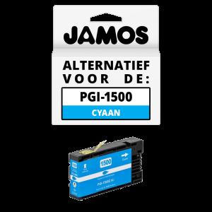 JAMOS Inktcartridge Alternatief voor de Canon PGI-1500C XL Cyaan