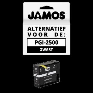 JAMOS Inktcartridge Alternatief voor de Canon PGI-2500BK XL Zwart