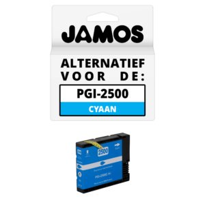 JAMOS Inktcartridge Alternatief voor de Canon PGI-2500C XL Cyaan