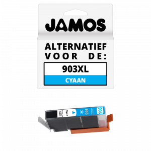 JAMOS Inktcartridge Alternatief voor de HP 903XL Cyaan