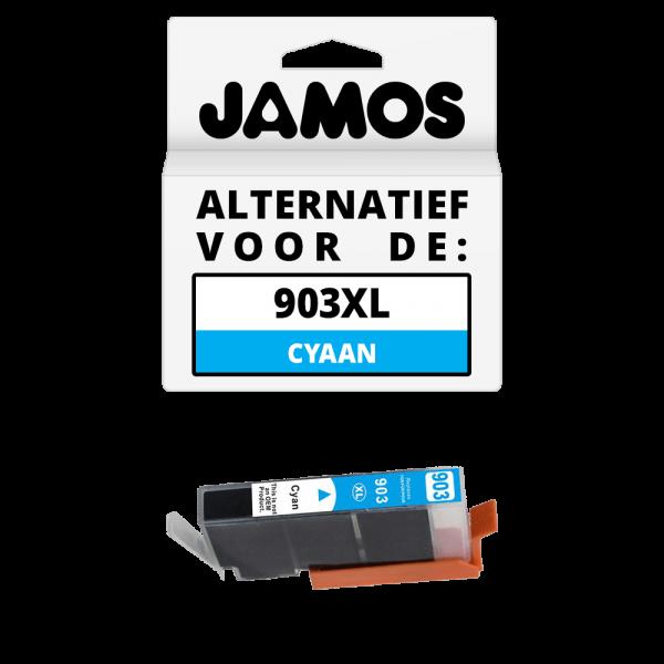 JAMOS Inktcartridge Alternatief voor de HP 903XL Cyaan