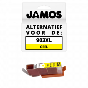 JAMOS Inktcartridge Alternatief voor de HP 903XL Geel