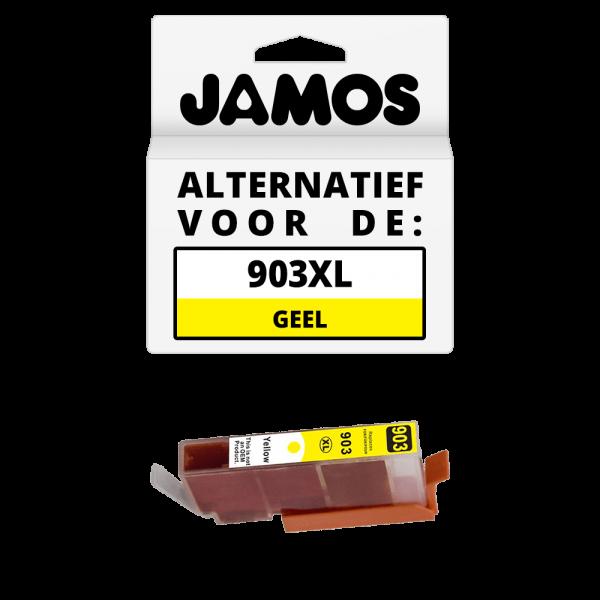 JAMOS Inktcartridge Alternatief voor de HP 903XL Geel