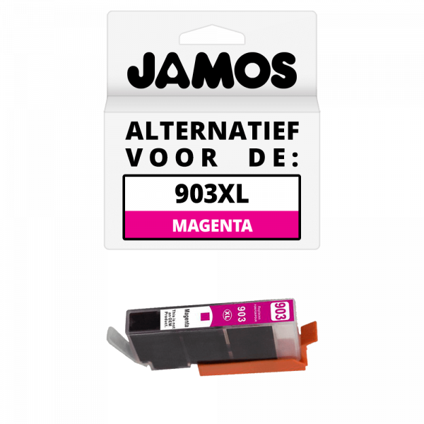 JAMOS Inktcartridge Alternatief voor de HP 903XL Magenta