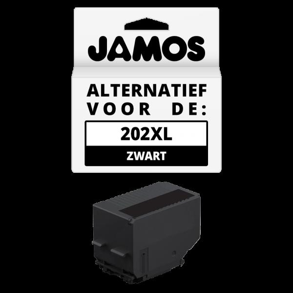 Jamos Inktcartridge Alternatief voor de Epson 202XL Zwart
