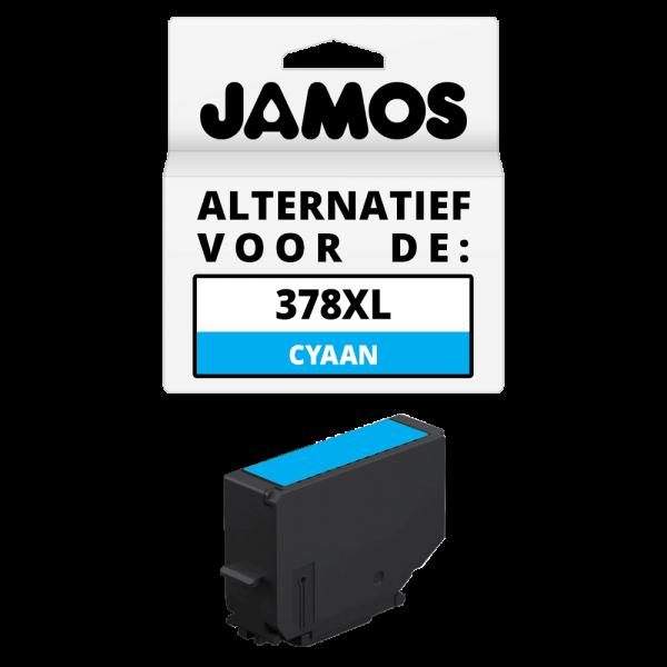 JAMOS Inktcartridge Alternatief voor de Epson 378XL Cyaan