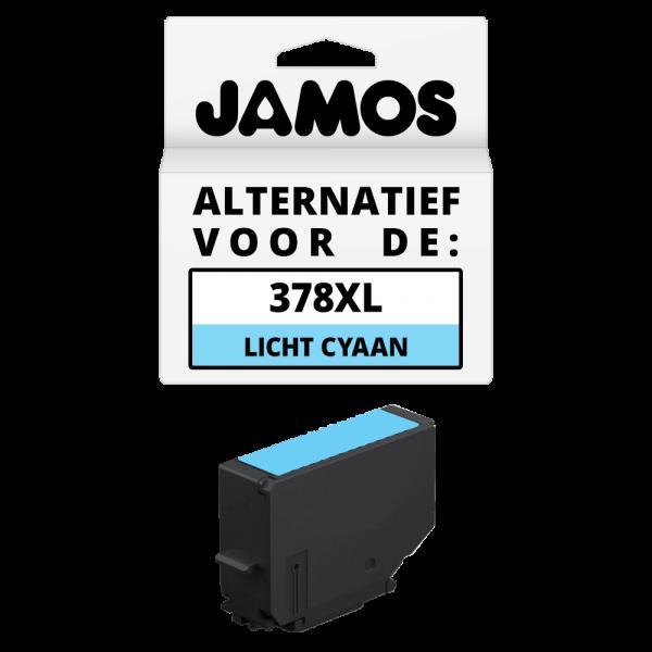 JAMOS Inktcartridge Alternatief voor de Epson 378XL Licht Cyaan