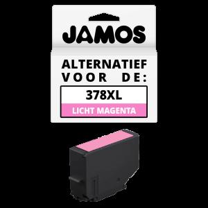 JAMOS Inktcartridge Alternatief voor de Epson 378XL Licht Magenta
